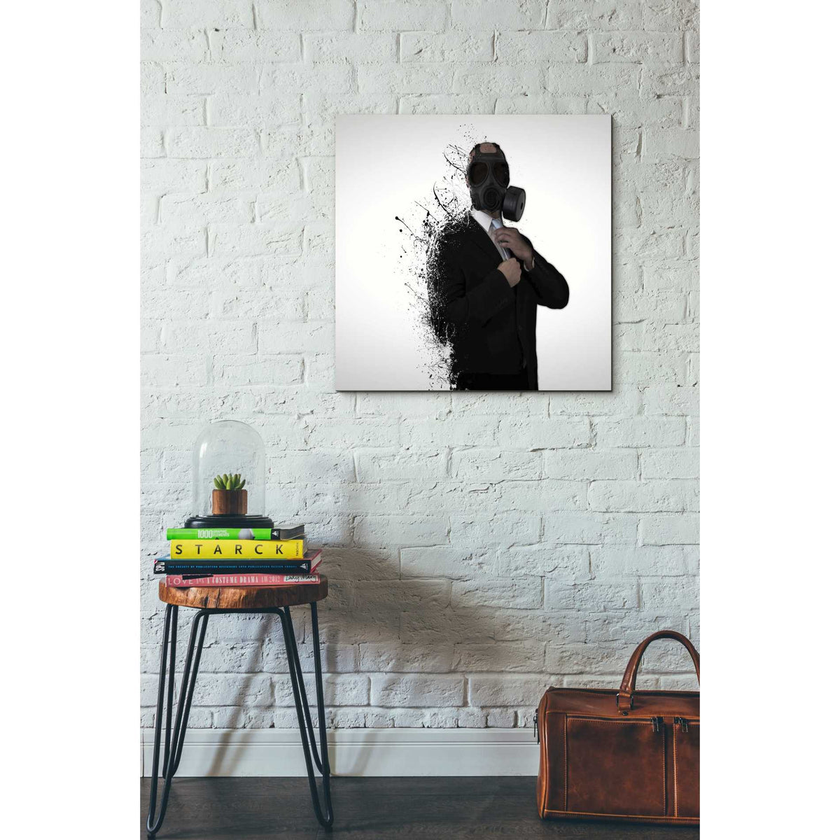 Cortesi Home 'Dissolution of Man' by Nicklas Gustafsson, Canvas Wall Art,26 x 26