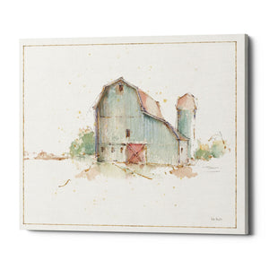"Epic Graffiti ""Farm Friends XIV Barn"" by Lisa Audit, Giclee Canvas Wall Art, 26""x34"""