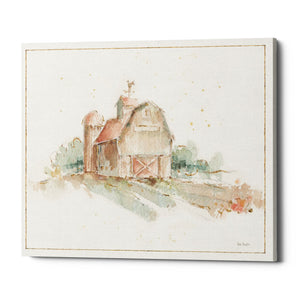 "Epic Graffiti ""Farm Friends XV Barn"" by Lisa Audit, Giclee Canvas Wall Art, 26""x34"""