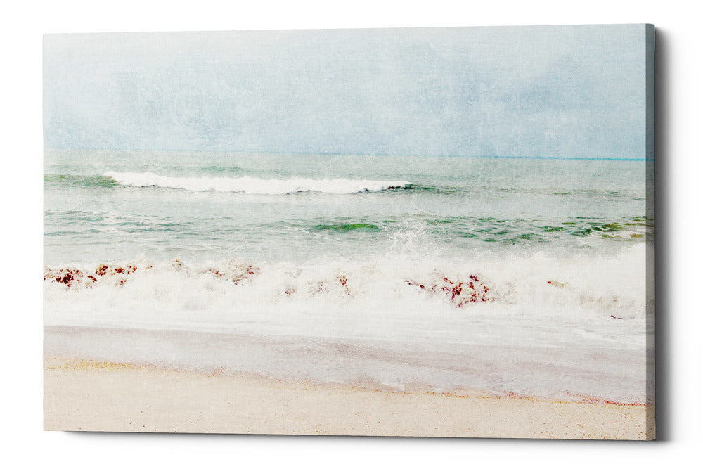 "Epic Graffiti ""Pastel Waves Landscape"" by Linda Woods, Giclee Canvas Wall Art, 26""x40"""