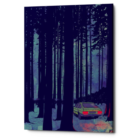 "Epic Graffiti ""Cars 11"" by Giuseppe Cristiano, Giclee Canvas Wall Art, 26""x40"""