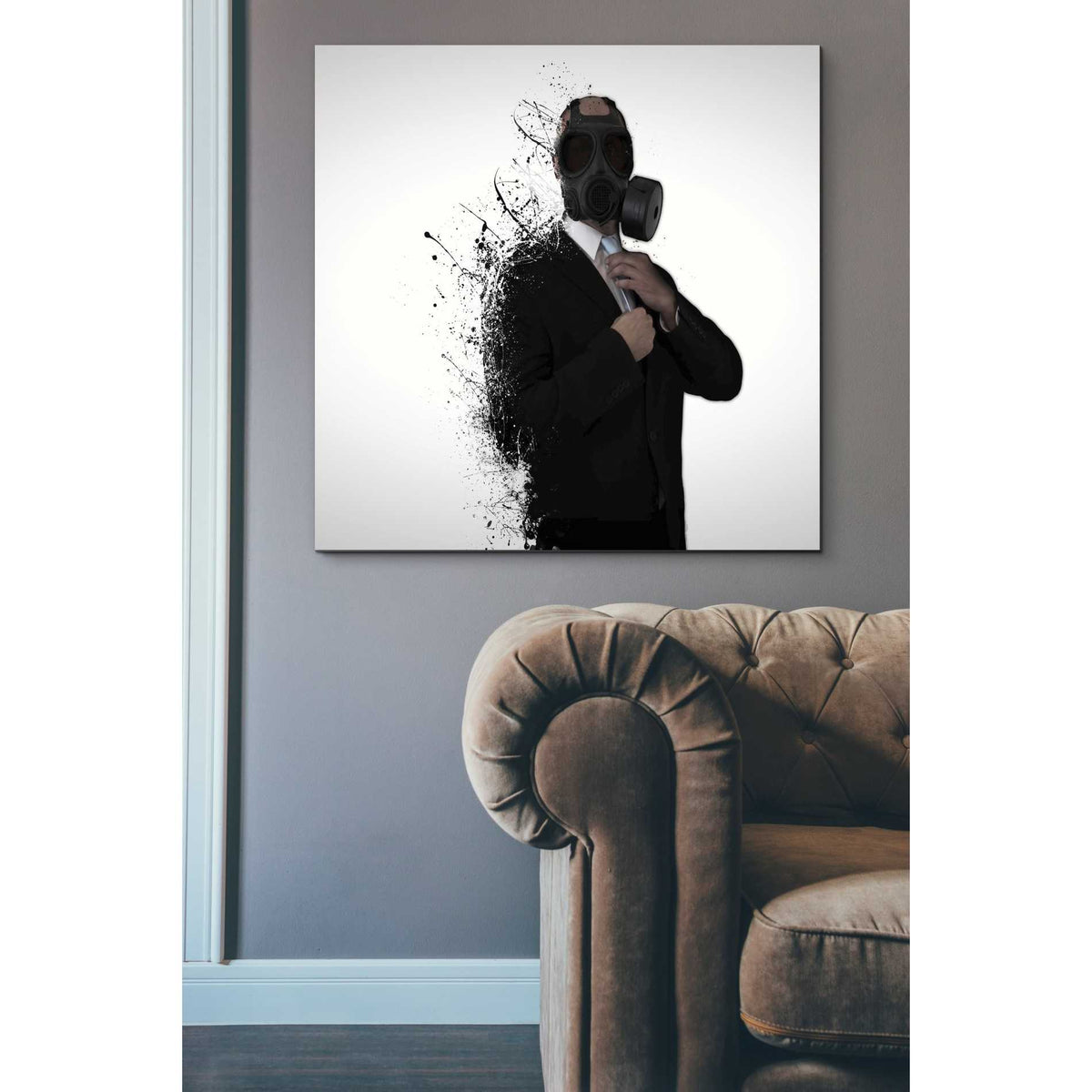 Cortesi Home 'Dissolution of Man' by Nicklas Gustafsson, Canvas Wall Art,37 x 37