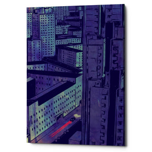 "Epic Graffiti ""Cars 10"" by Giuseppe Cristiano, Giclee Canvas Wall Art, 40""x60"""
