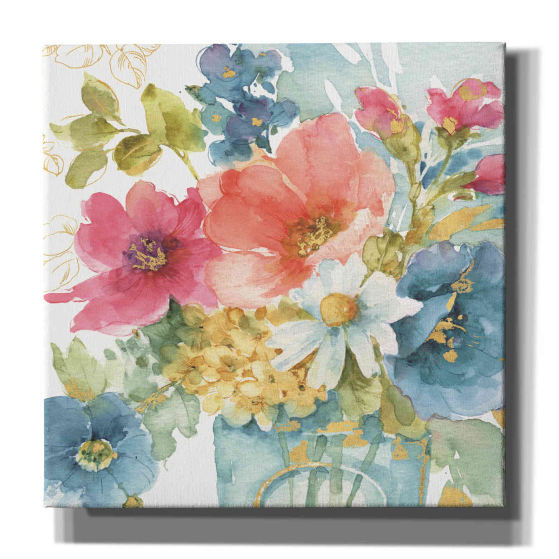 Epic Graffiti 'My Garden Bouquet II' by Lisa Audit, Canvas Wall Art