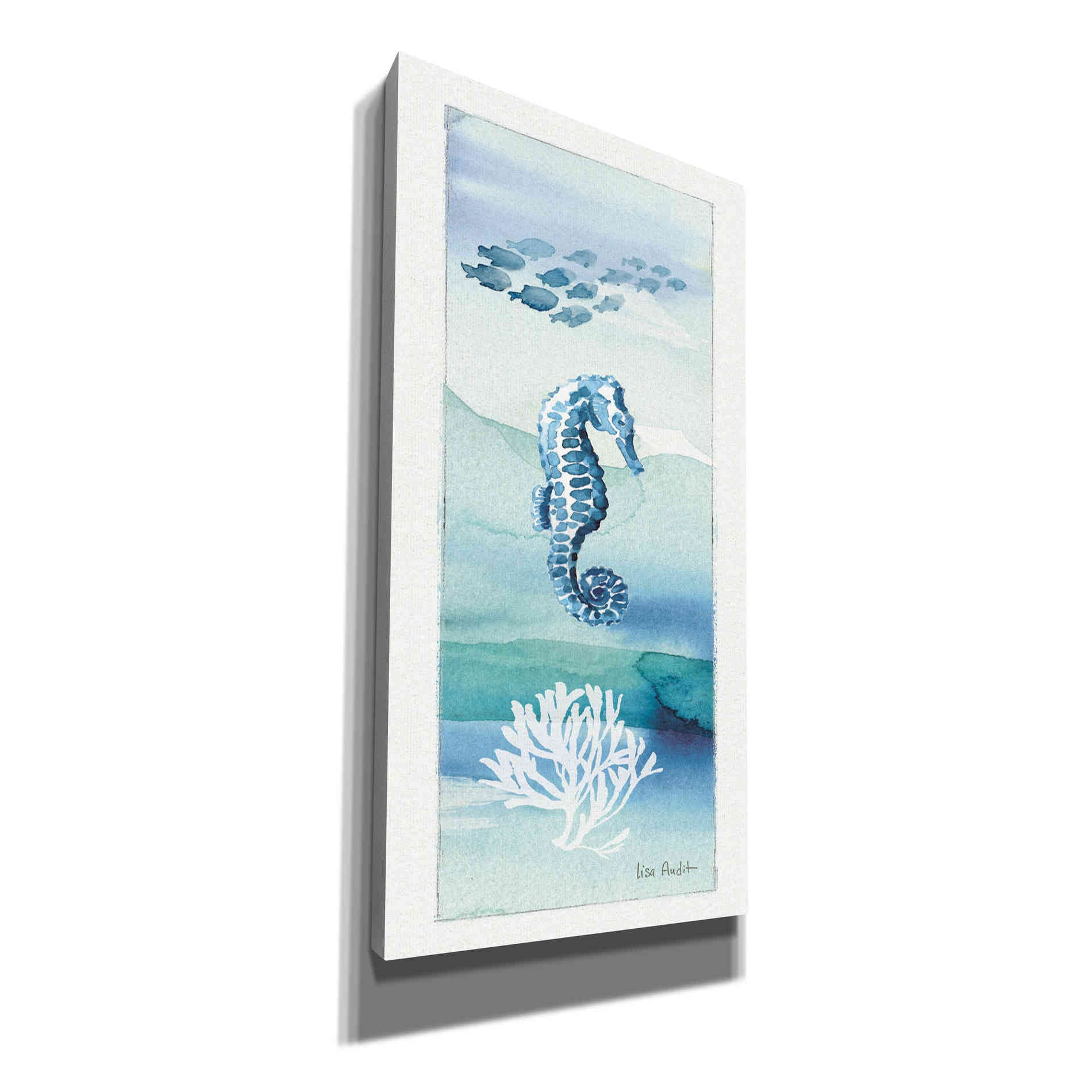 Epic Graffiti 'Sea Life VII' by Lisa Audit, Canvas Wall Art