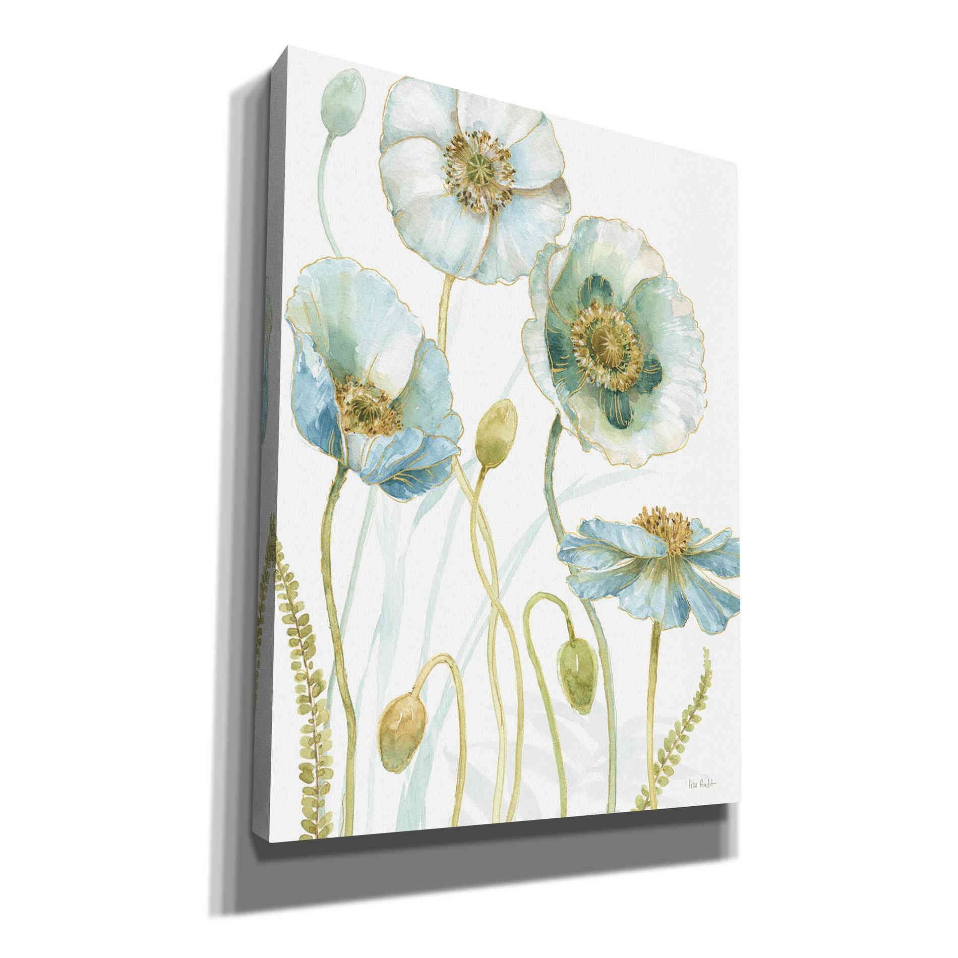 Epic Graffiti 'My Greenhouse Flowers VII' by Lisa Audit, Canvas Wall Art