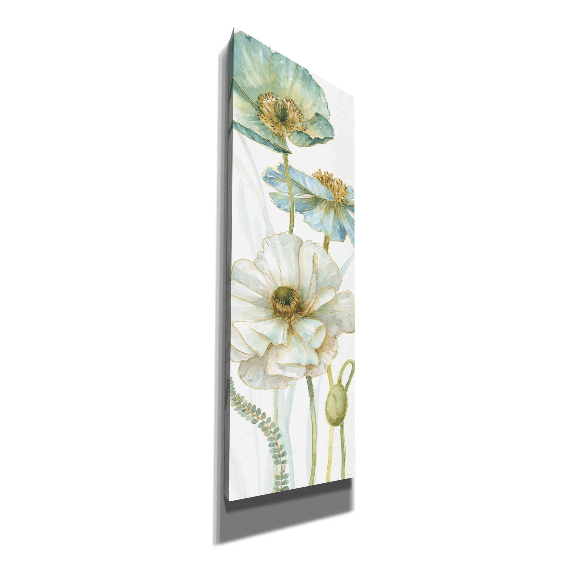 Epic Graffiti 'My Greenhouse Flowers VIII' by Lisa Audit, Canvas Wall Art