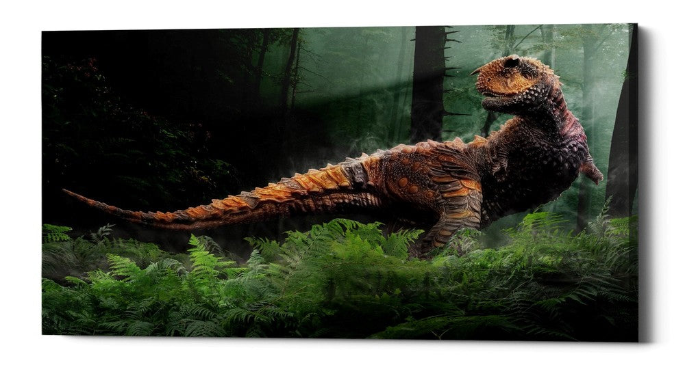 "Epic Graffiti ""Carnotaurus"" Giclee Canvas Wall Art"