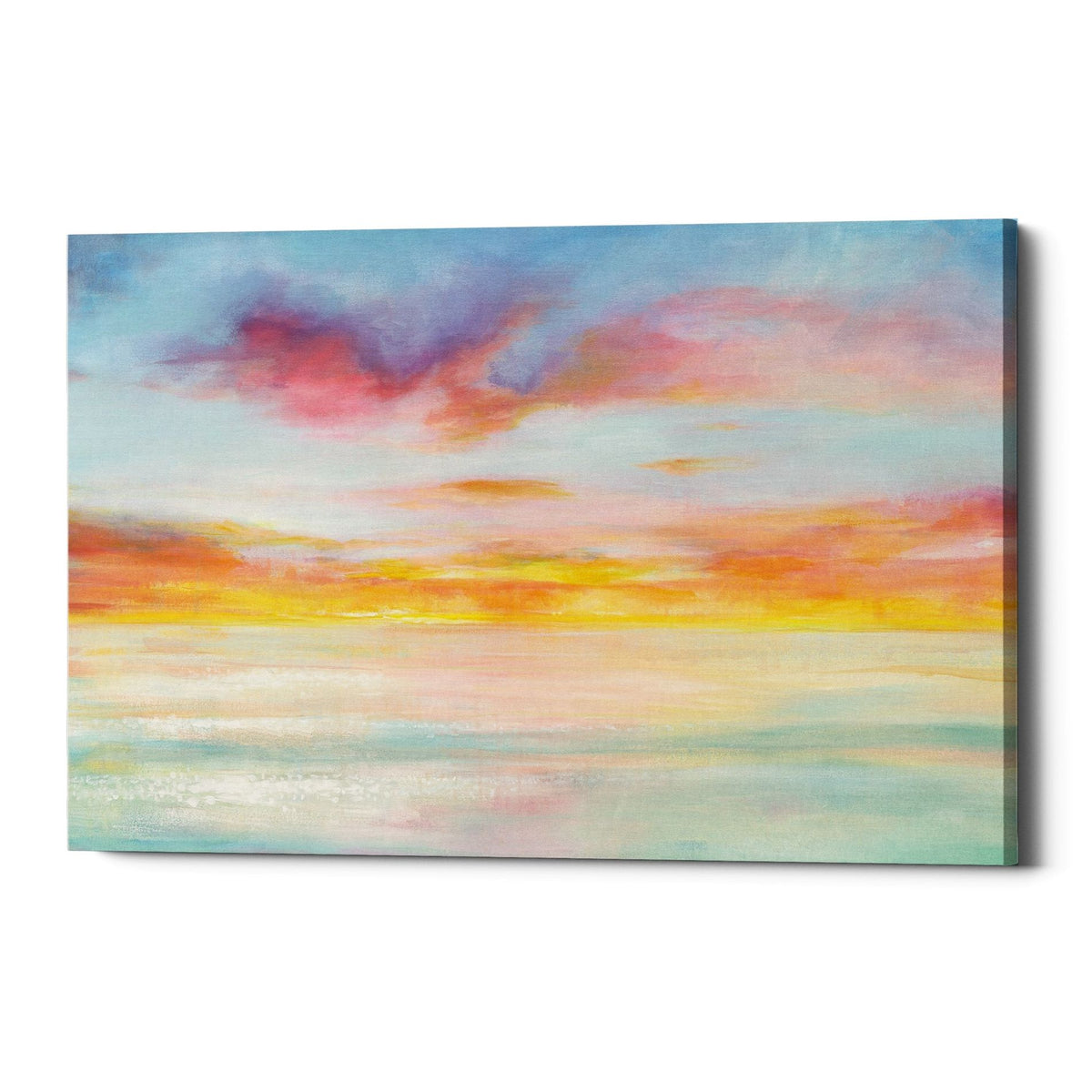 "Epic Graffiti ""Pastel Sky"" by Danhui Nai, Giclee Canvas Wall Art"