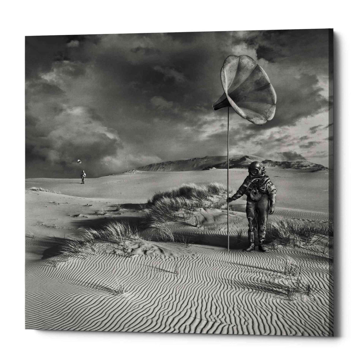 Epic Graffiti 'Argonauci' by Dariusz Klimczak, Canvas Wall Art