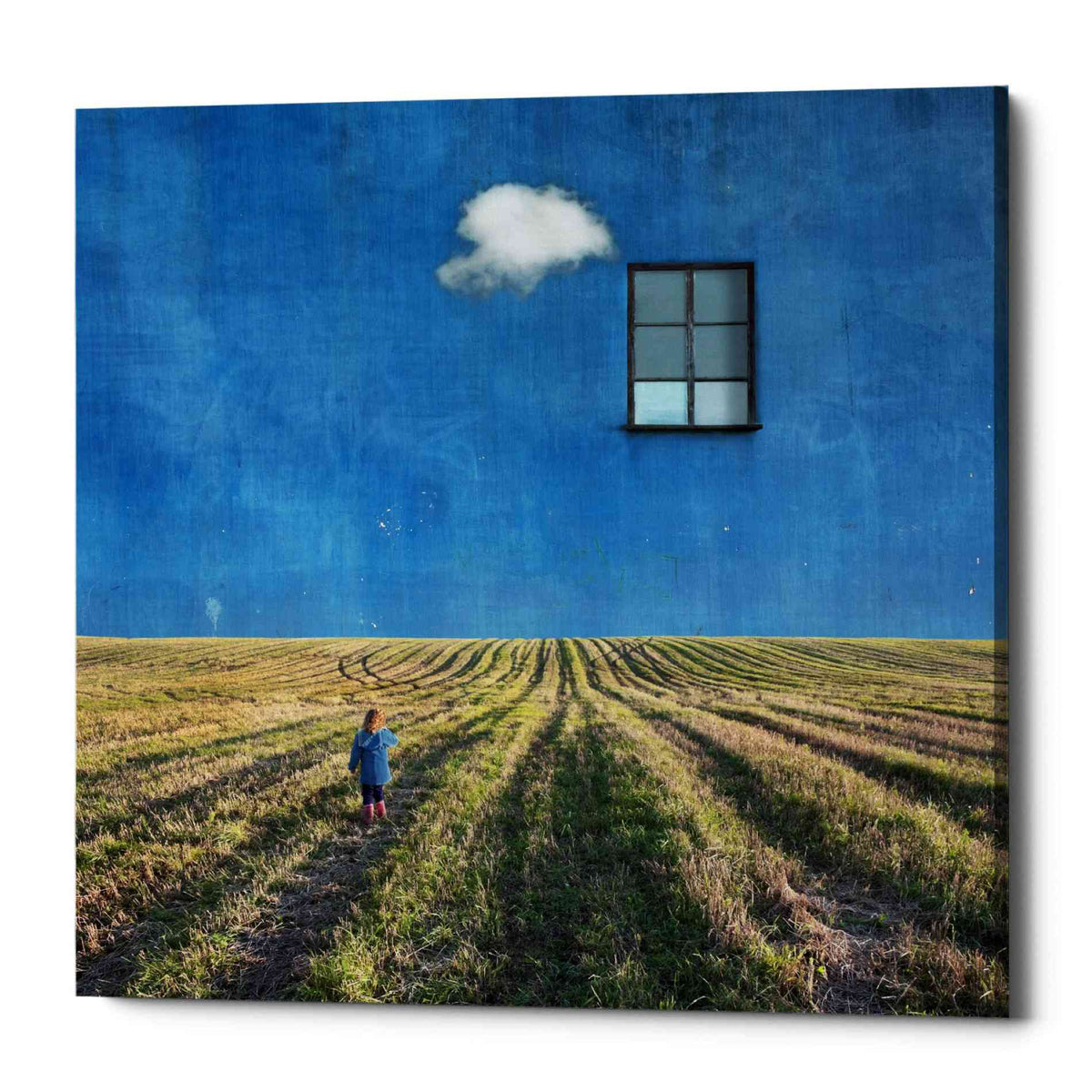 Epic Graffiti 'Big Blue' by Dariusz Klimczak, Canvas Wall Art