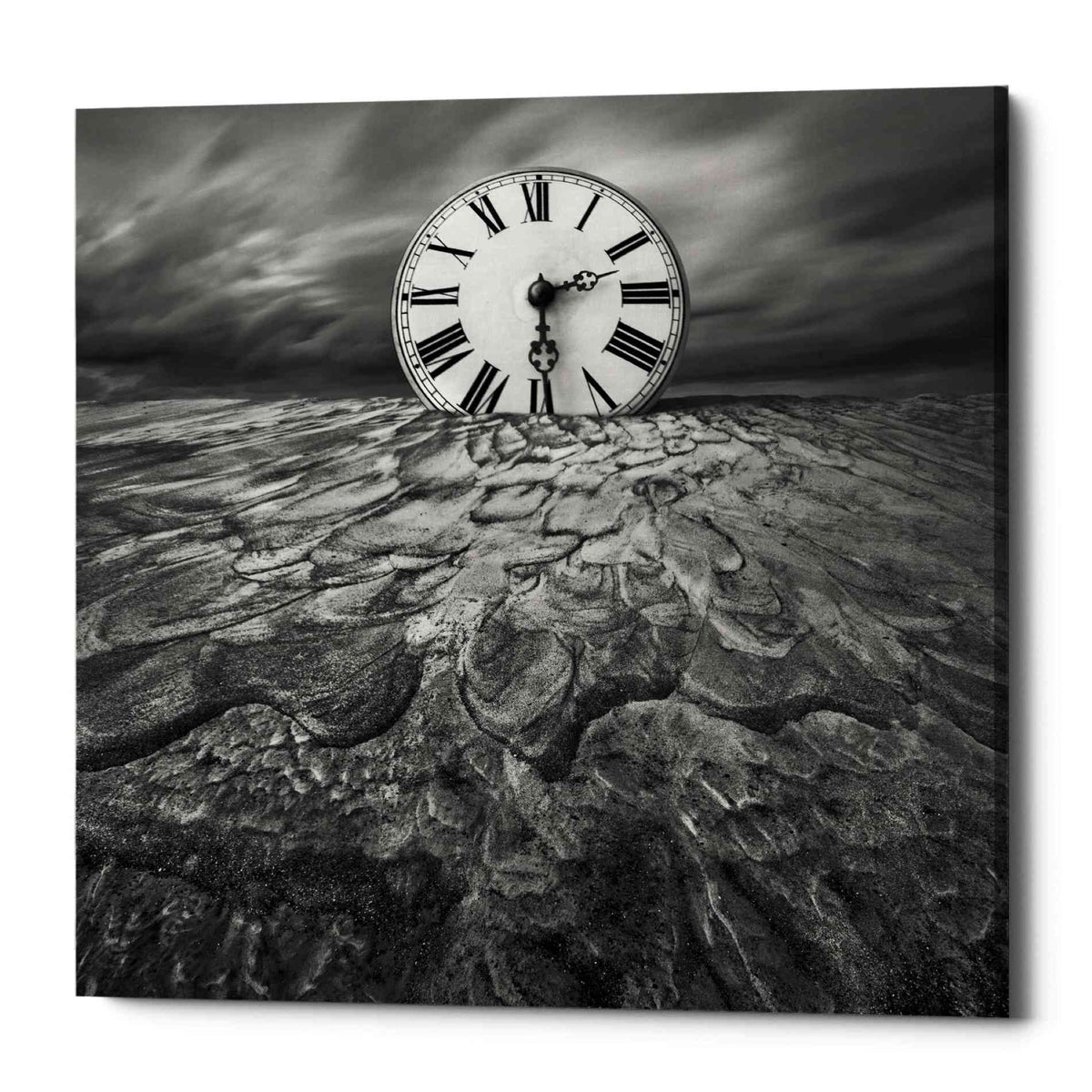 Epic Graffiti 'Clockwork' by Dariusz Klimczak, Canvas Wall Art