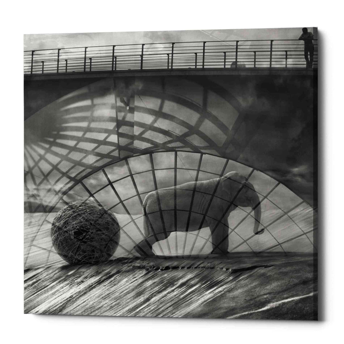 Epic Graffiti 'Kingandi' by Dariusz Klimczak, Canvas Wall Art