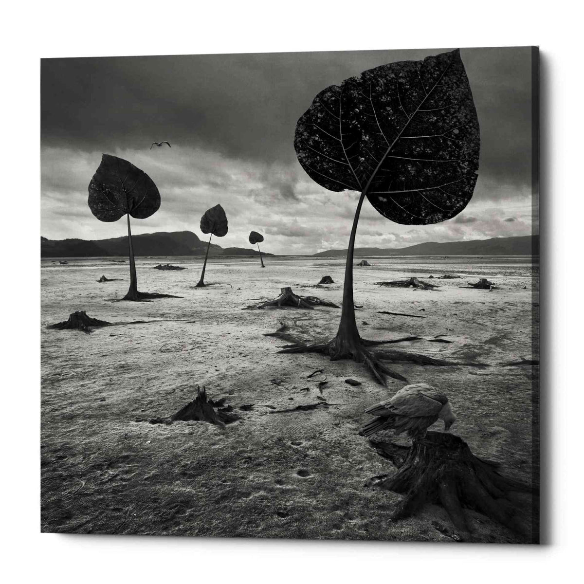 Epic Graffiti 'PostEarth' by Dariusz Klimczak, Canvas Wall Art