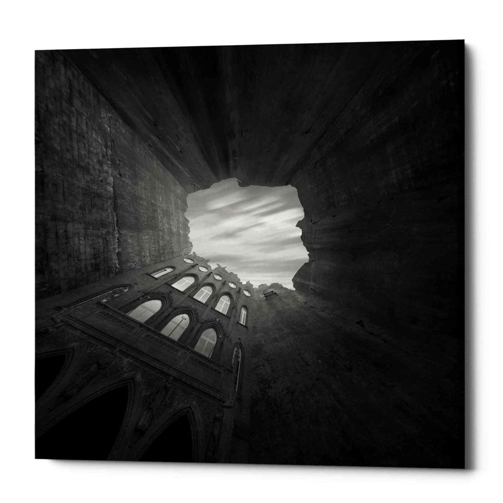 "Epic Graffiti ""Well"" by Dariusz Klimczak, Giclee Canvas Wall Art"