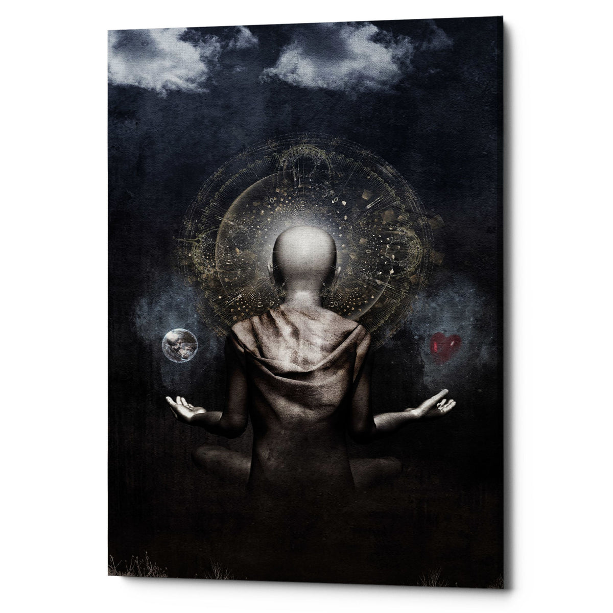 "Epic Graffiti ""The Projection"" by Cameron Gray, Giclee Canvas Wall Art"