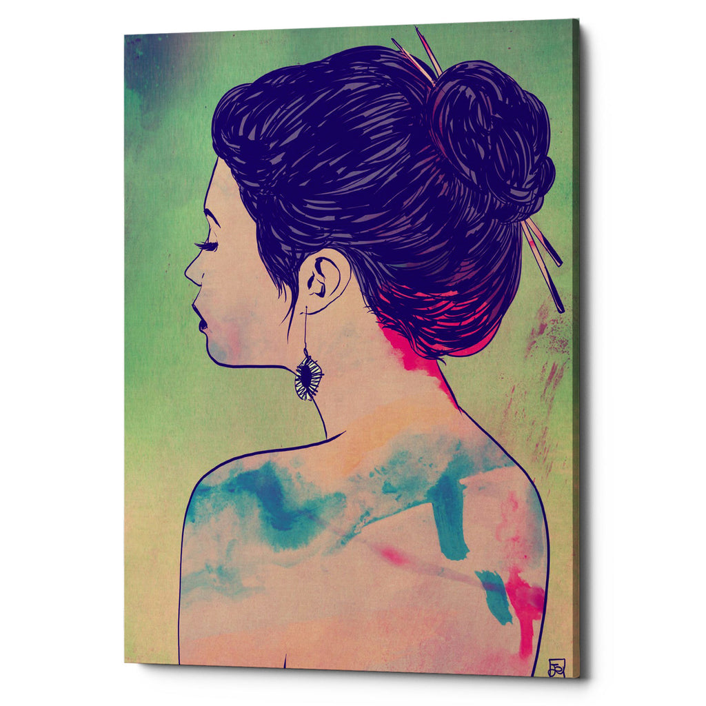 "Epic Graffiti ""Colors"" by Giuseppe Cristiano, Giclee Canvas Wall Art"