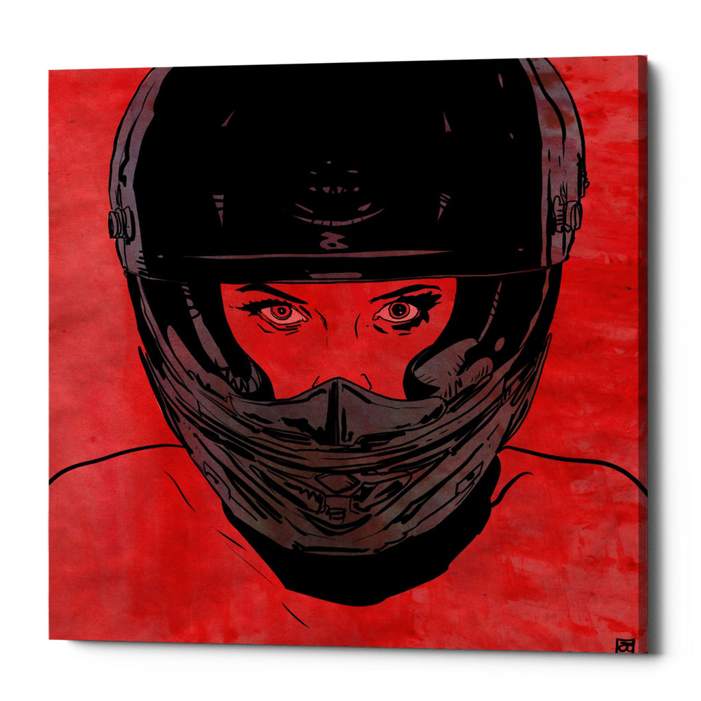 "Epic Graffiti ""Ride"" by Giuseppe Cristiano, Giclee Canvas Wall Art"