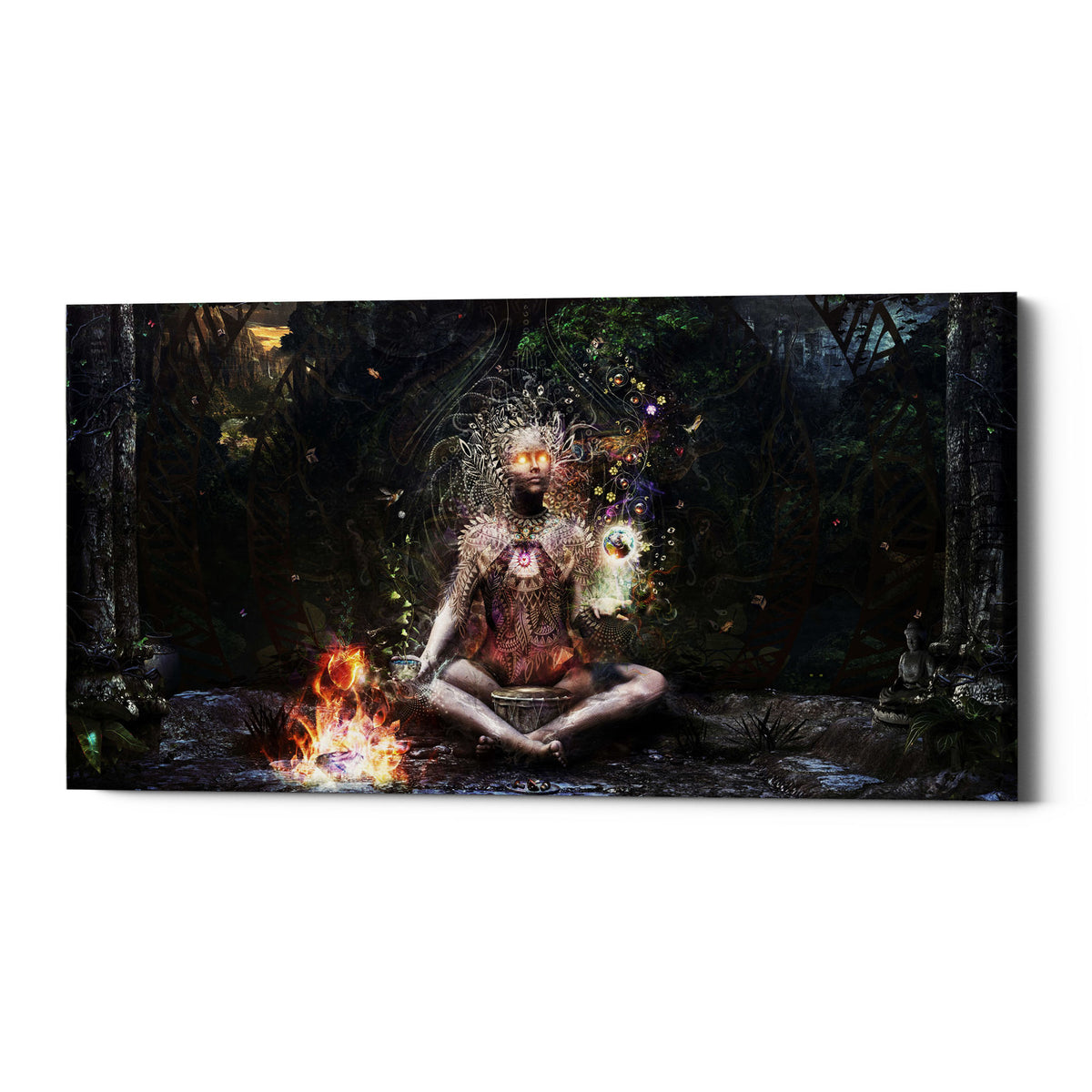 "Epic Graffiti ""Sacrament For The Sacred Dreamers"" by Cameron Gray, Giclee Canvas Wall Art"