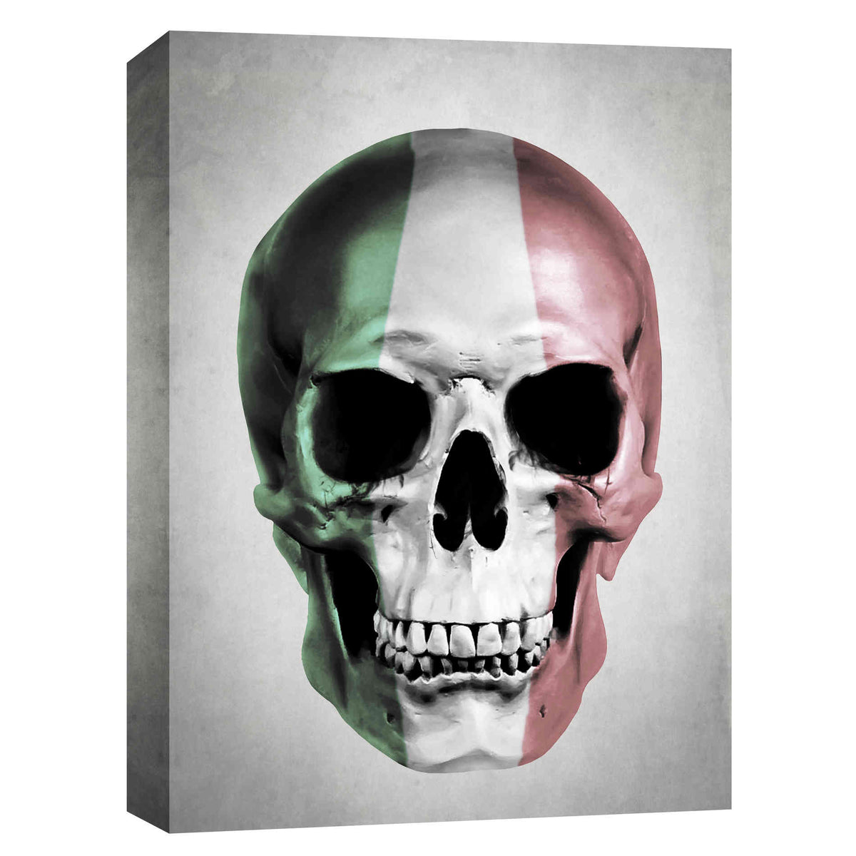 Cortesi Home 'Italian Skull Grey' by Nicklas Gustafsson, Canvas Wall Art