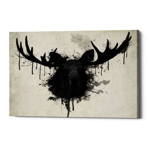 "Cortesi Home ""Moose"" by Nicklas Gustafsson, Giclee Canvas Wall Art"