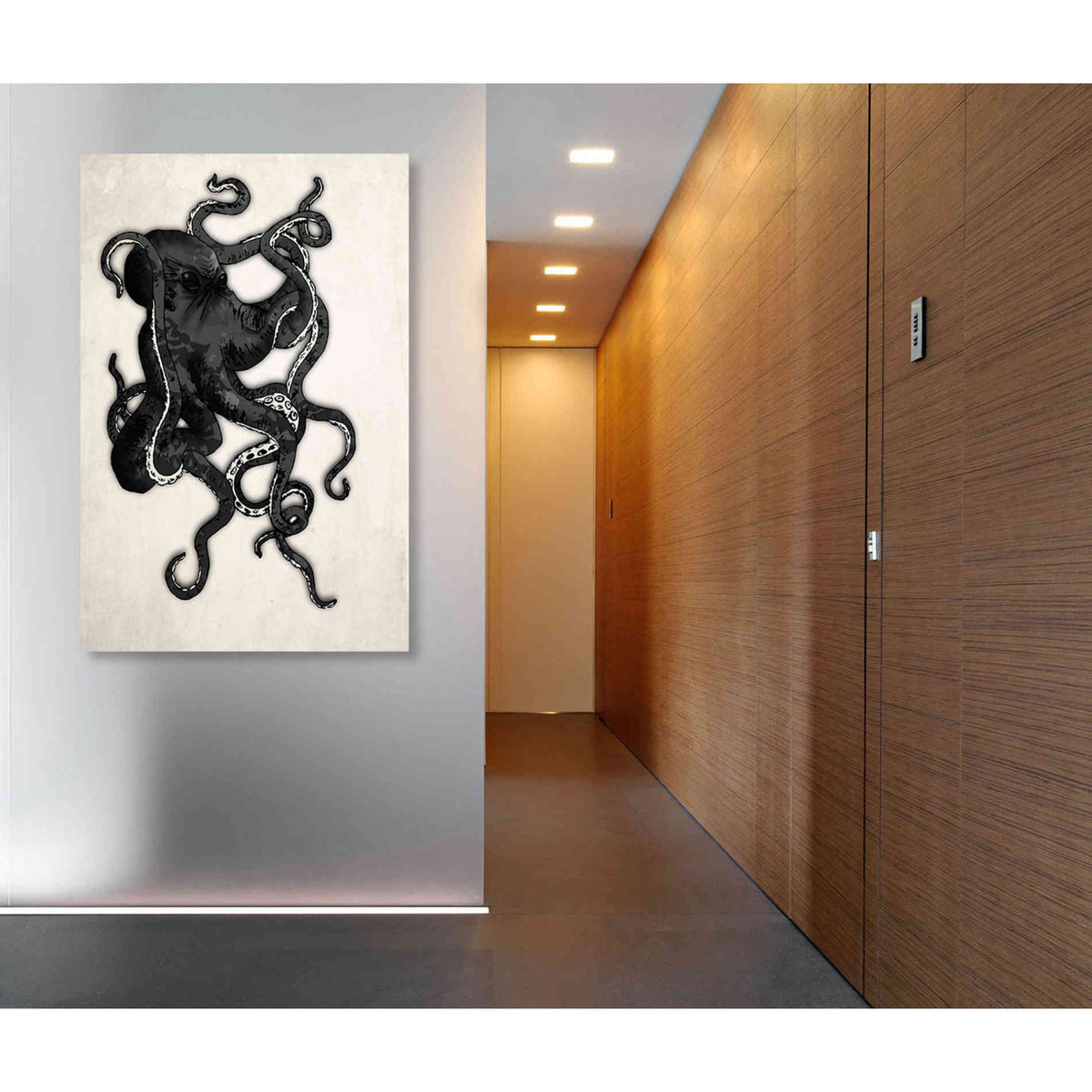 Cortesi Home 'Octopus' by Nicklas Gustafsson, Canvas Wall Art