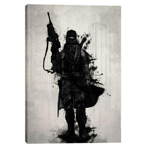 "Cortesi Home ""Post Apocalyptic Warrior"" by Nicklas Gustafsson, Giclee Canvas Wall Art"