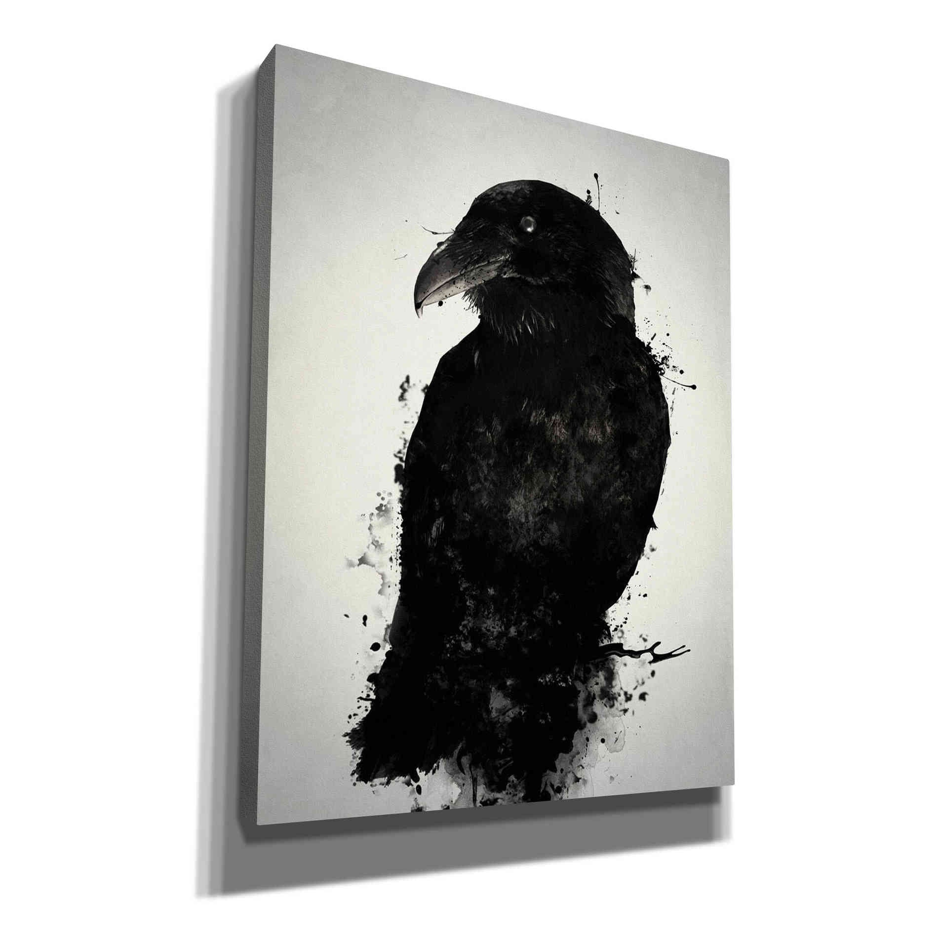 "Cortesi Home ""The Raven"" by Nicklas Gustafsson, Giclee Canvas Wall Art"