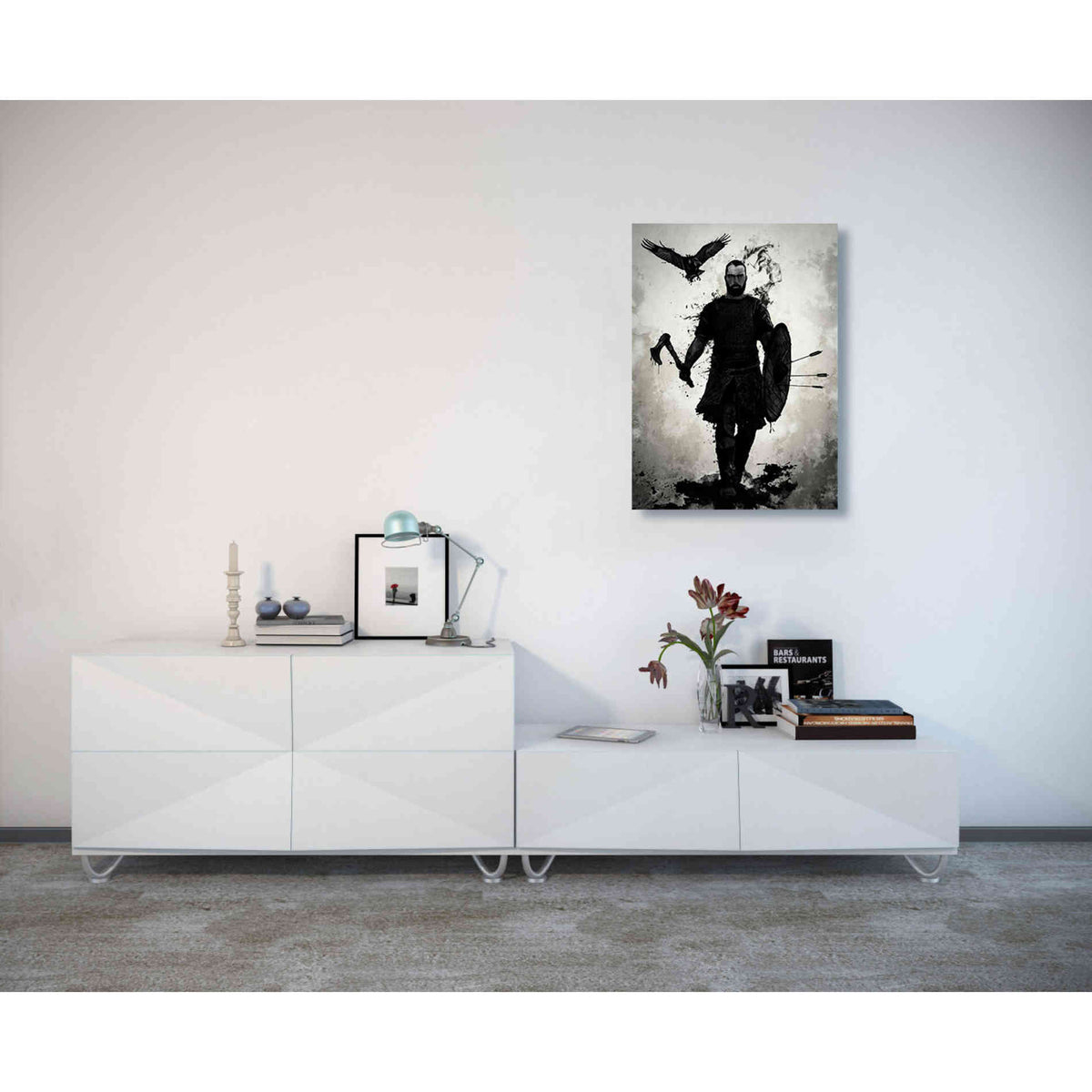 Cortesi Home 'To Valhalla' by Nicklas Gustafsson, Canvas Wall Art