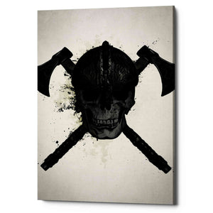 "Cortesi Home ""Viking Skull"" by Nicklas Gustafsson, Giclee Canvas Wall Art"