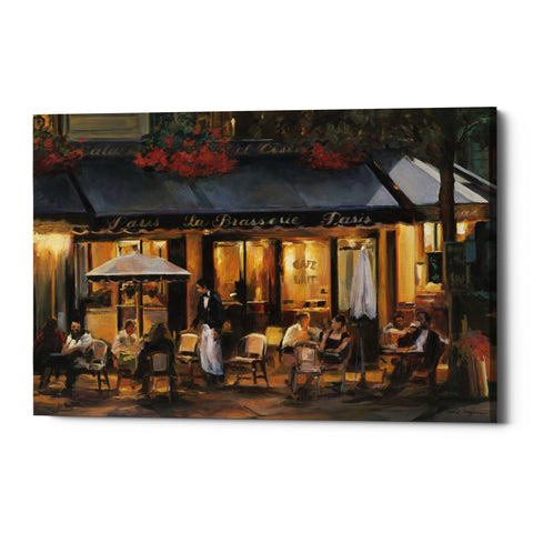 "Epic Graffiti ""La Brasserie"" by Marilyn Hageman, Giclee Canvas Wall Art"