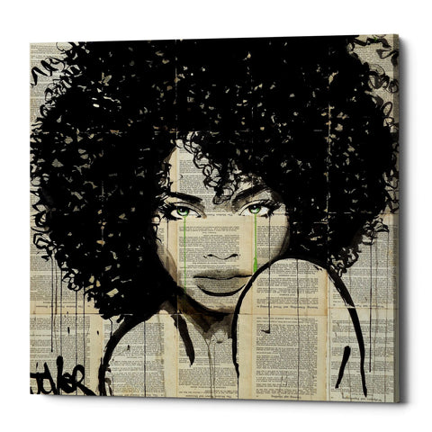 "Epic Graffiti ""Angel"" by Loui Jover, Giclee Canvas Wall Art"