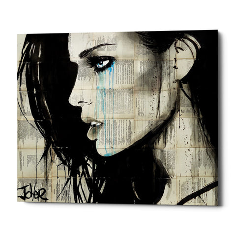 "Epic Graffiti ""Bright Ecstasy"" by Loui Jover, Giclee Canvas Wall Art"