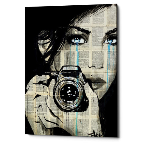 "Epic Graffiti ""Caught"" by Loui Jover, Giclee Canvas Wall Art"