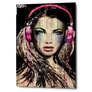"Epic Graffiti ""DJ"" by Loui Jover, Giclee Canvas Wall Art"