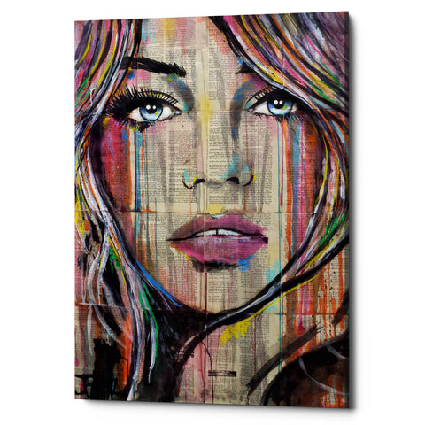 "Epic Graffiti ""In Someways"" by Loui Jover, Giclee Canvas Wall Art"