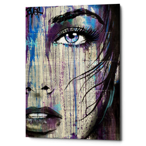 "Epic Graffiti ""Indigo Feeling"" by Loui Jover, Giclee Canvas Wall Art"