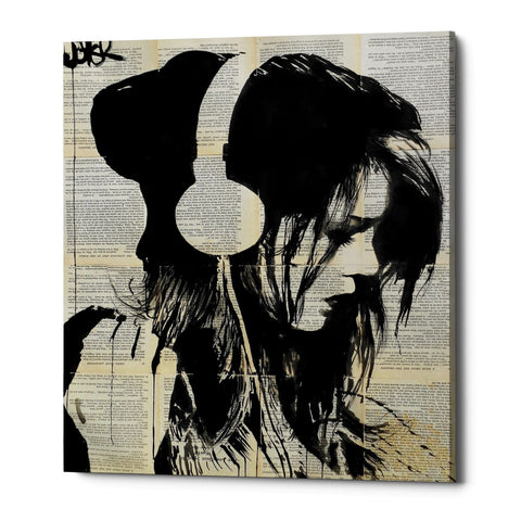 "Epic Graffiti ""Melodies Solace"" by Loui Jover, Giclee Canvas Wall Art"