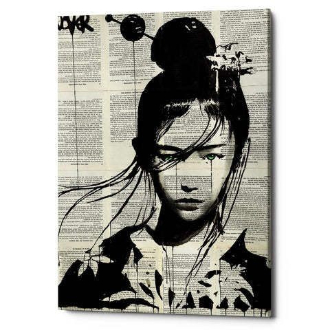 "Epic Graffiti ""Narumi"" by Loui Jover, Giclee Canvas Wall Art"