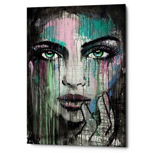 "Epic Graffiti ""New Muse"" by Loui Jover, Giclee Canvas Wall Art"