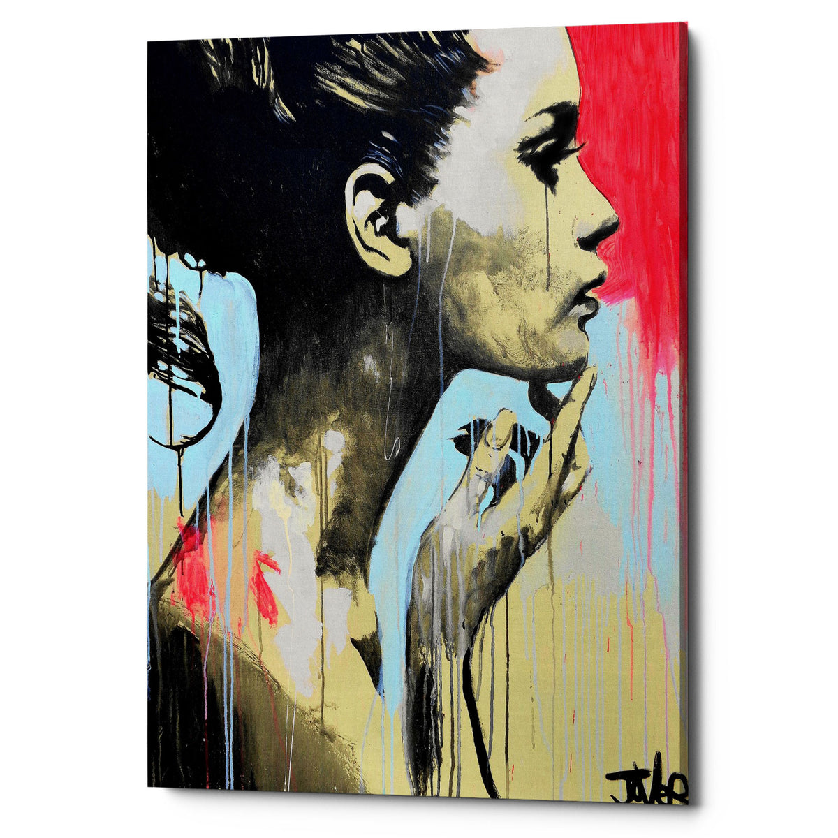 "Epic Graffiti ""Perhaps"" by Loui Jover, Giclee Canvas Wall Art"