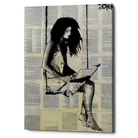 "Epic Graffiti ""Spell"" by Loui Jover, Giclee Canvas Wall Art"