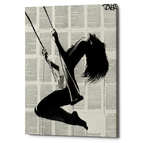 "Epic Graffiti ""The Lightness of Being Again"" by Loui Jover, Giclee Canvas Wall Art"