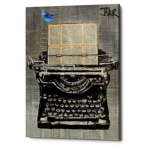 "Epic Graffiti ""The Writer"" by Loui Jover, Giclee Canvas Wall Art"