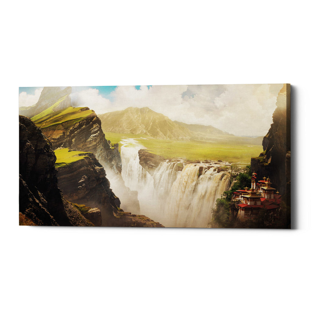 "Epic Graffiti ""Epic Valley"" by Jonathan Lam, Giclee Canvas Wall Art"