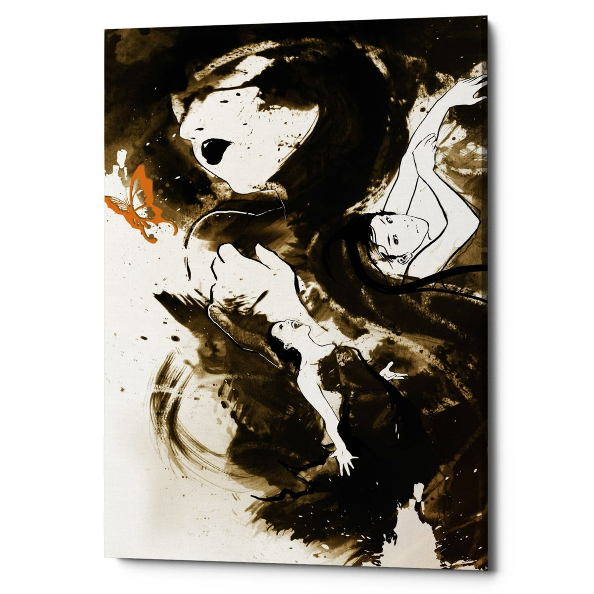 "Epic Graffiti ""Fury Fidelity Fate"" by Jonathan Lam, Giclee Canvas Wall Art"