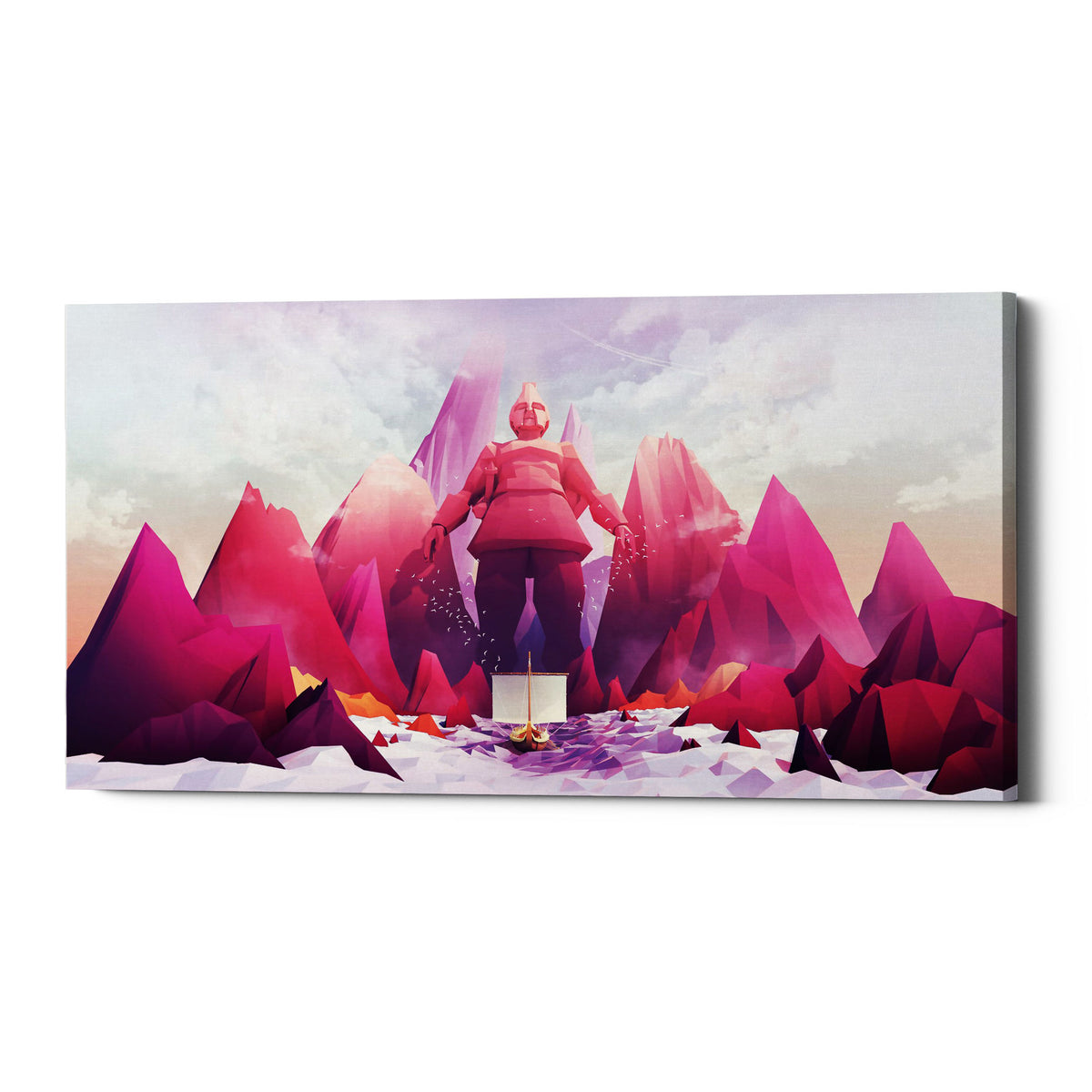 "Epic Graffiti ""Talos"" by Jonathan Lam, Giclee Canvas Wall Art"