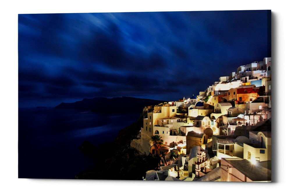"Epic Graffiti ""Over Time Exposure,"" Giclee Canvas Wall Art"