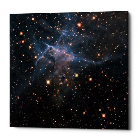 "Epic Graffiti ""Mystic Mountain Infrared"" Hubble Space Telescope Giclee Canvas Wall Art"