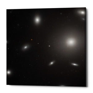 "Epic Graffiti ""NGC 4874"" Hubble Space Telescope Giclee Canvas Wall Art"